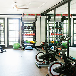 Bell Roper Mountain apartments fitness center